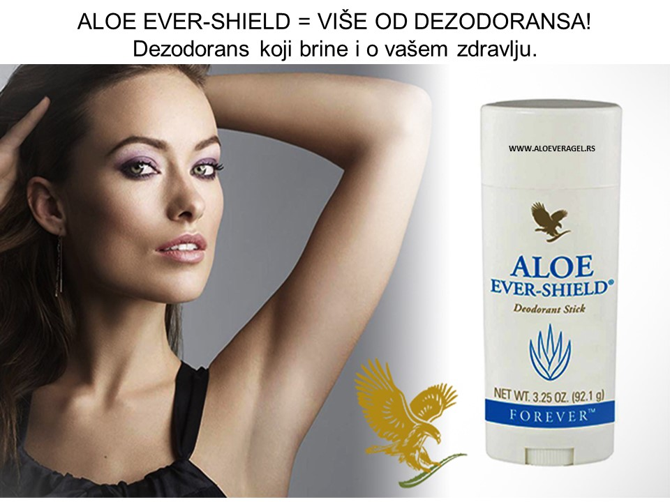 ALOE EVER-SHIELD = VIŠE OD DEZODORANSA